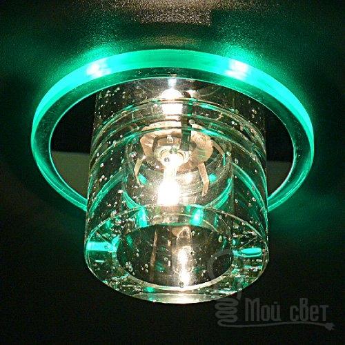 Использование уличных светодиодных светильников и алюминиевых профилей.
