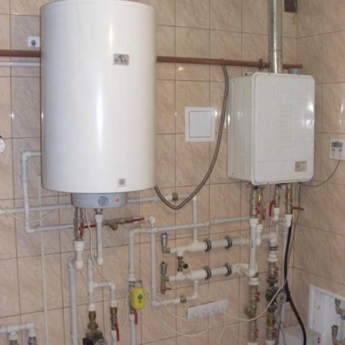Монтаж системы отопления в доме