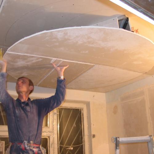 Несколько советов о том, как сделать потолок из гипсокартона