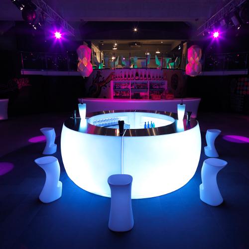 Осветительная система современного бара