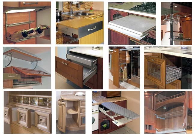 Мебельная фурнитура: современные технологии на кухне