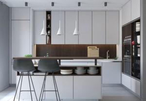 Дизайнерские кухни в новый дом