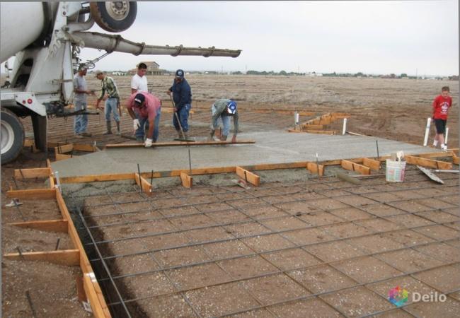 Фундамент для дома плита – принцип строительства и цена под ключ