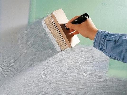 Подготовка и покраска несущих поверхностей