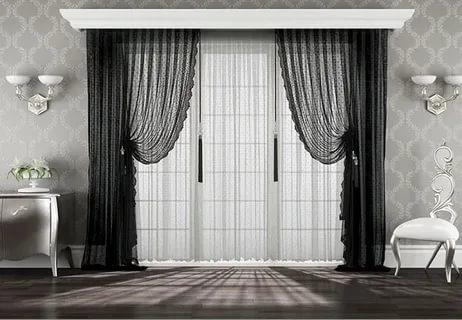 Как выбрать шторы, тюль в гостиную