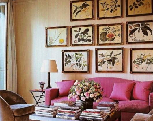Как создать уникальный интерьер квартиры с помощью вышивки?