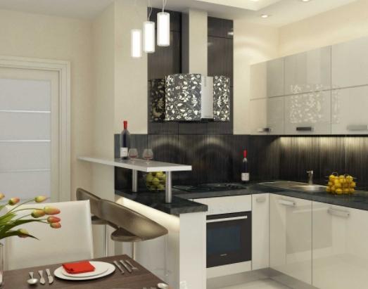 Особенности планировки и дизайна интерьера кухни